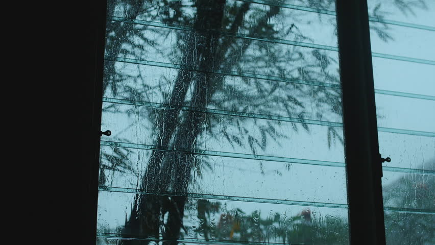 Storm Through a Window. a Stock Footage Video (100% Royalty-free) 8635591    Shutterstock