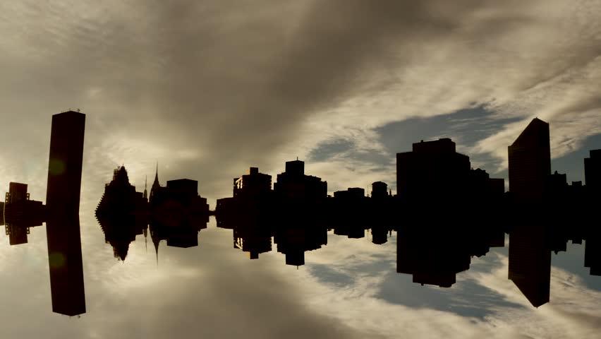 New york city. traffic transportation. skyline metropolis background. cityscape scenery   Shutterstock HD Video #8647804