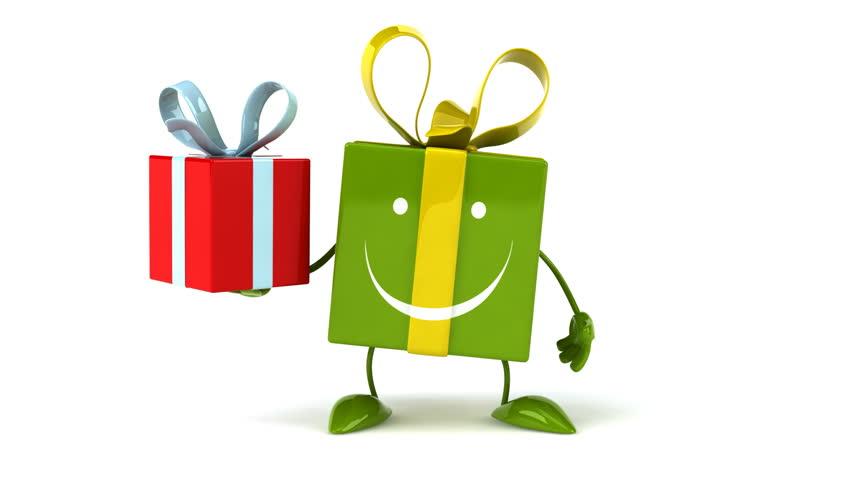 Fun gift   Shutterstock HD Video #8666110