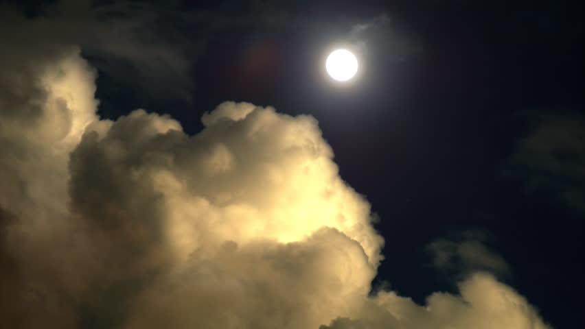 Dark clouds time lapse #8694454