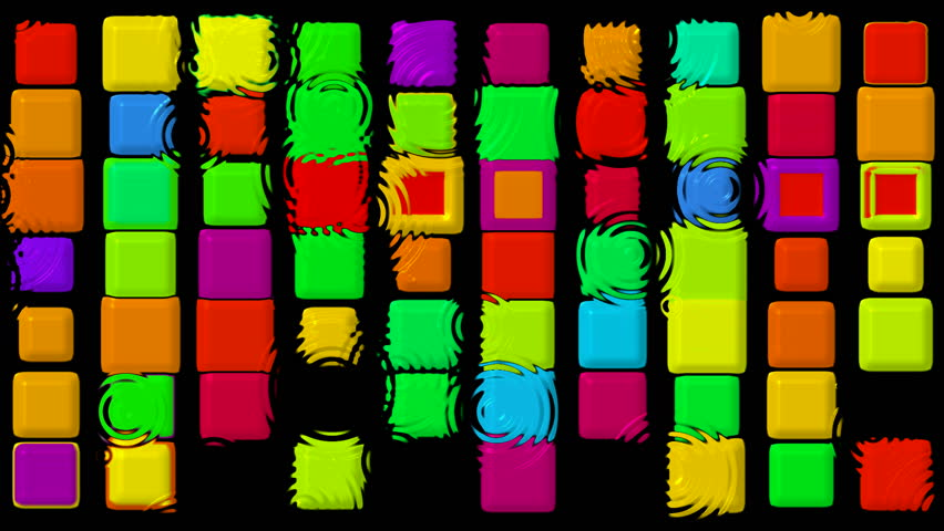 Color matrix rectangle and ripple,game,Tetris   Shutterstock HD Video #879481