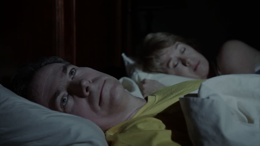 Image result for sleepless man in bed