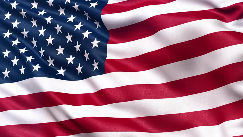Realistic Flag Of The Usa Stock Footage Video 100 Royalty Free 8851186 Shutterstock