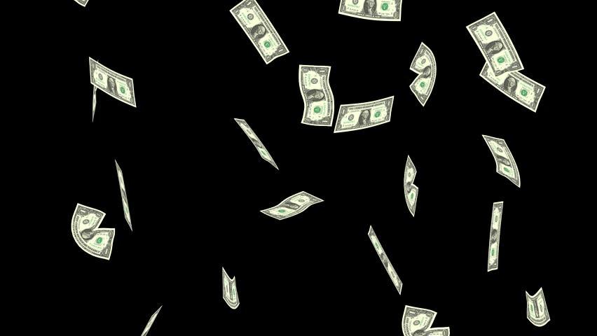 Гифка улетающие деньги