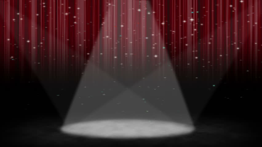 Spotlight On A Stage With Stock Footage Video 100 Royalty Free 891787 Shutterstock
