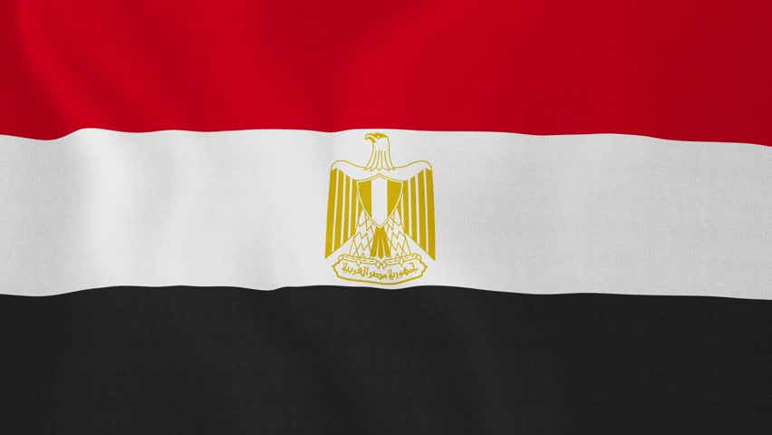 Loopable Flag Of Egypt Egyptian Stock Footage Video 100 Royalty Free 8959210 Shutterstock