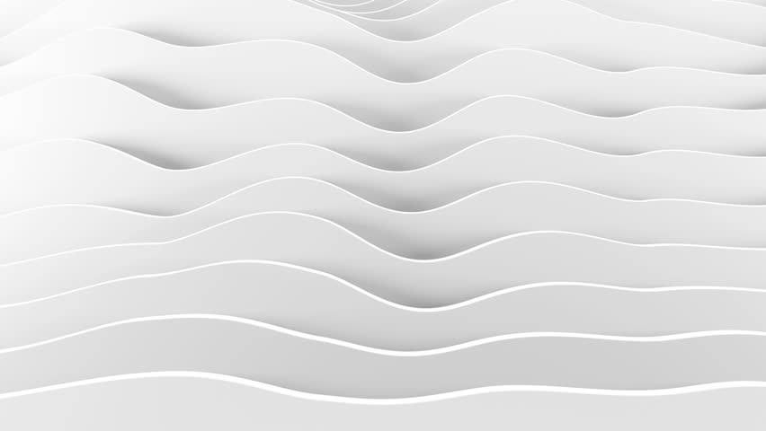 Bright abstract background with animation  of geometric wave shapes layers  | Shutterstock HD Video #8979637