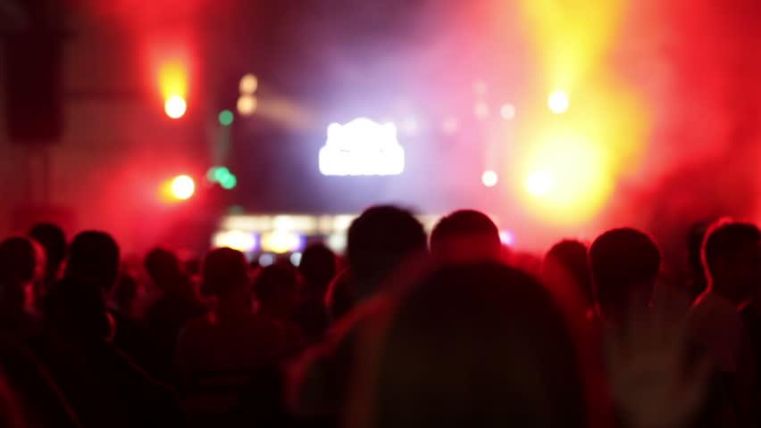 Dancing crowd   Shutterstock HD Video #9029677