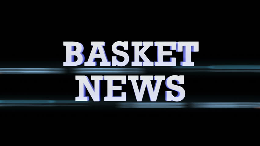 BASKET NEWS Text Flares Transition, with Alpha Channel, Loop | Shutterstock HD Video #9059149