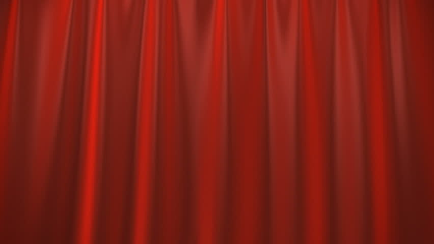 A red curtain lifting up.  Alpha Channel is included.  | Shutterstock HD Video #906874