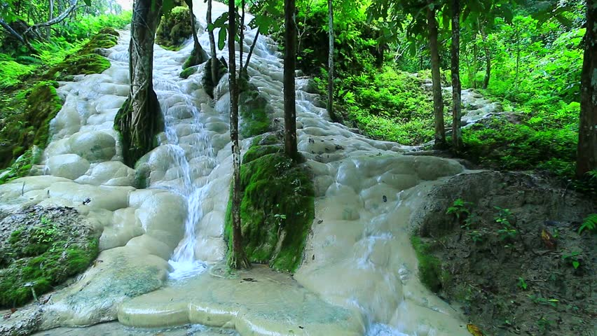 Bua Tong Waterfall in Chiang Stock Footage Video (100% Royalty-free)  9105578 | Shutterstock