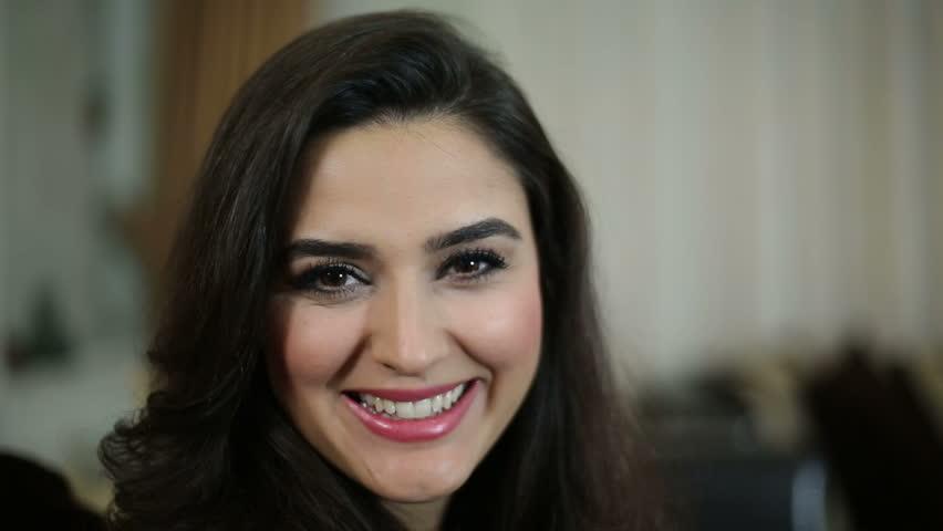 Beautiful woman smiling | Shutterstock HD Video #9106079