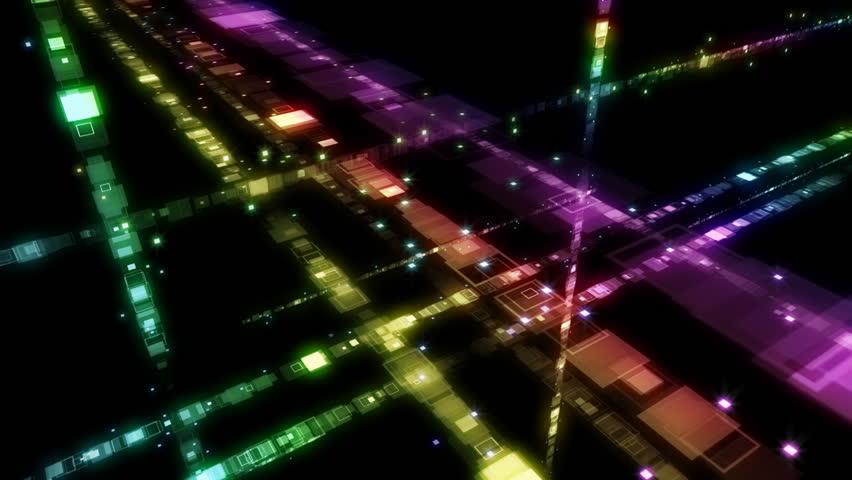 Digital data network images. | Shutterstock HD Video #915823