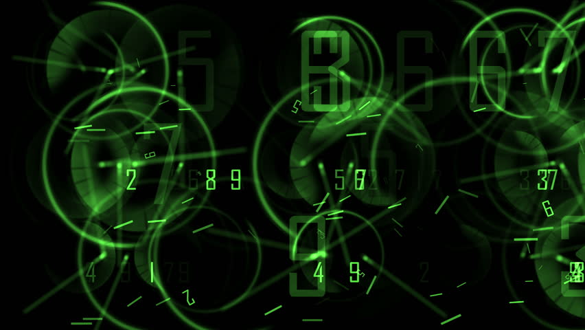 4k Circle round digit time clocks & digital wheels background,trade finance channel,stopwatch pointer space,contests games competition tunnel,mystery focus backdrop. 0490_4k | Shutterstock HD Video #9175559