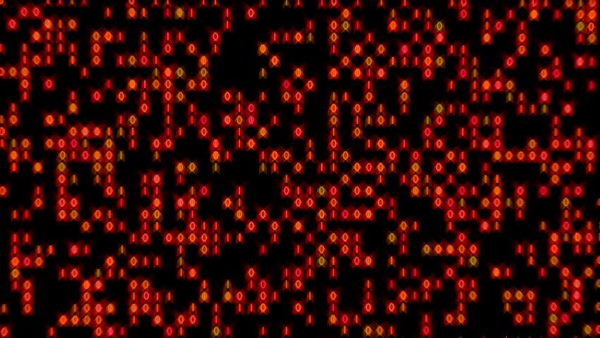 Data Stream Binary Glowing Zoom In Blue Green   Shutterstock HD Video #9195332