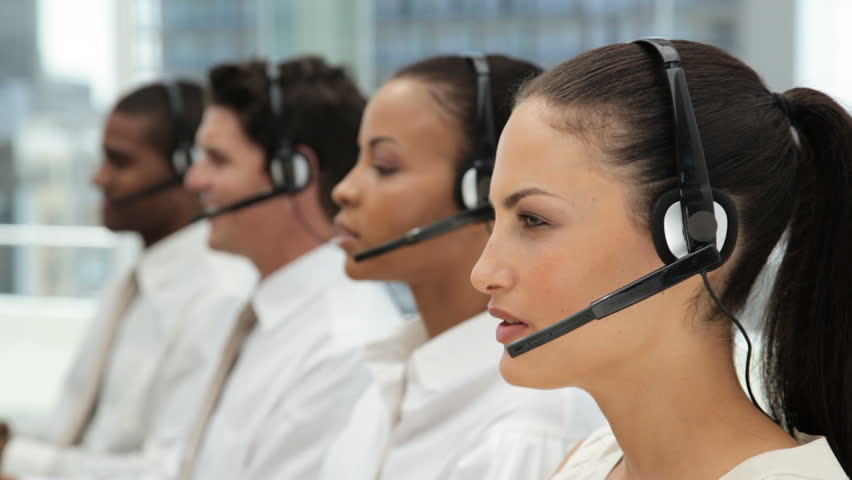 Customer Service Representatives at a Call Center