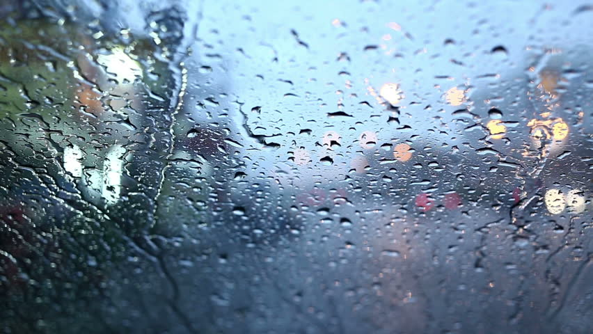 Close up front of mirror car with rain drops   Shutterstock HD Video #9240125