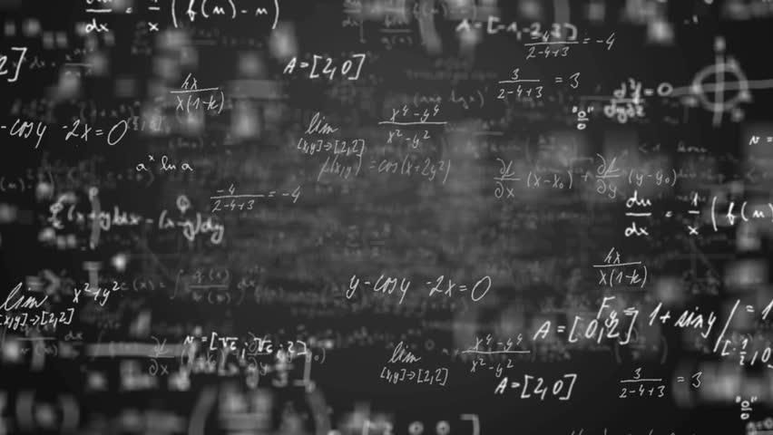 Camera flying throught math equation