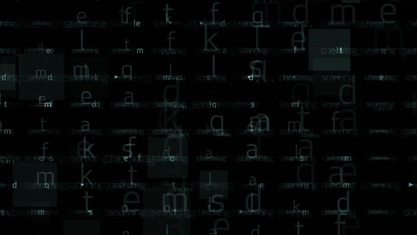 4k Abstract alphabet character matrix background,computer letters tech,Big data files internet backup storage,mathematics numbers,input search accounts,programmer writing software backdrop. 0569_4k | Shutterstock HD Video #9272846