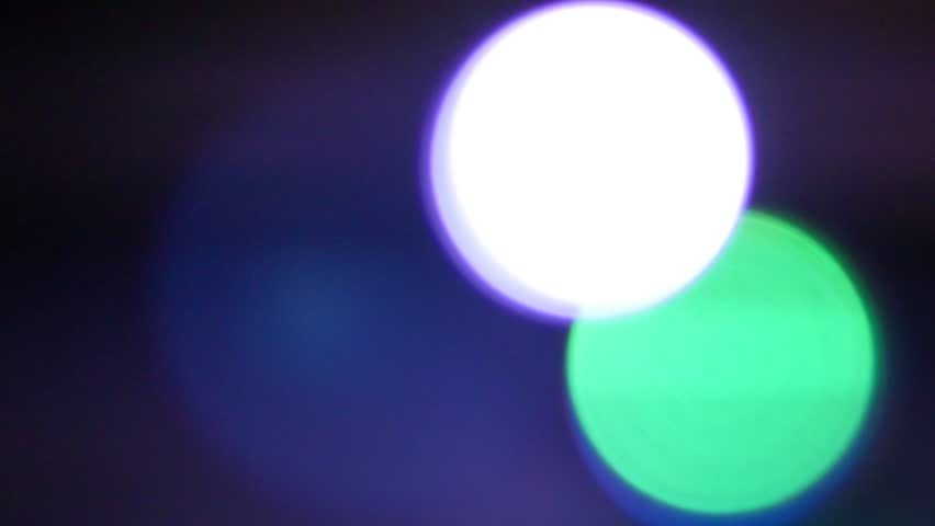 Background-Overlays-Red-blue-green lights blinking over a black background/Overlays circles | Shutterstock HD Video #9395432