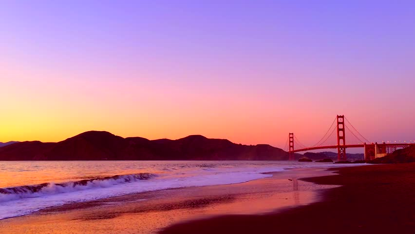The Golden Gate Bridge As Stock Footage
