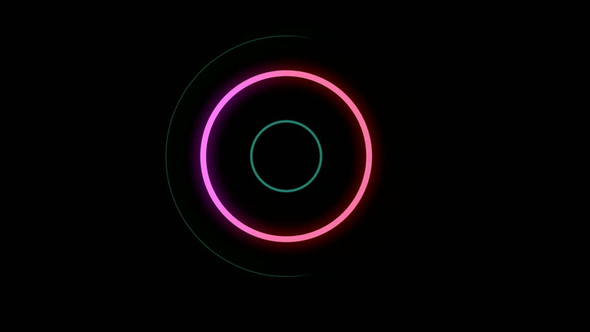 A 24 s. loop. Includes nice geometrical effects. A glowing ring is rotating and evolving on. Ideal for clubs, parties, or web designs #9423392