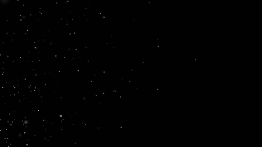 Dust particles moving in space. High quality clip rendered on high end computer and graphics card.    Shutterstock HD Video #9466805
