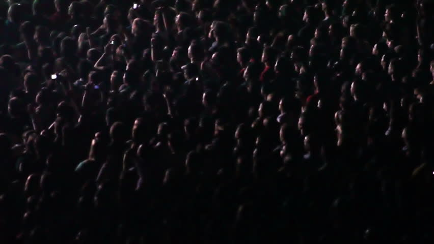 Cheering Crowd at Concert  | Shutterstock HD Video #948343