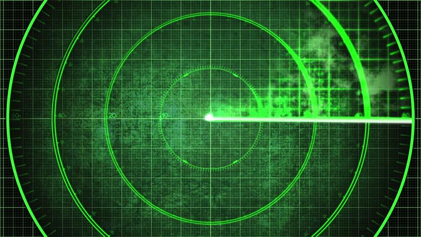 Radar Detection Screen Closeup Detail