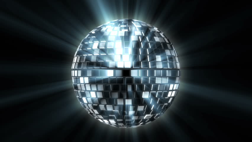 Disco ball Spinning on Isolated Background | Shutterstock HD Video #9492746