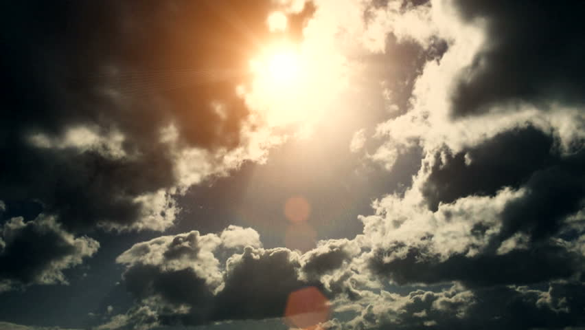 Dramatic Cloudscape Area with the Light sun ( Different Series ) | Shutterstock HD Video #9505223