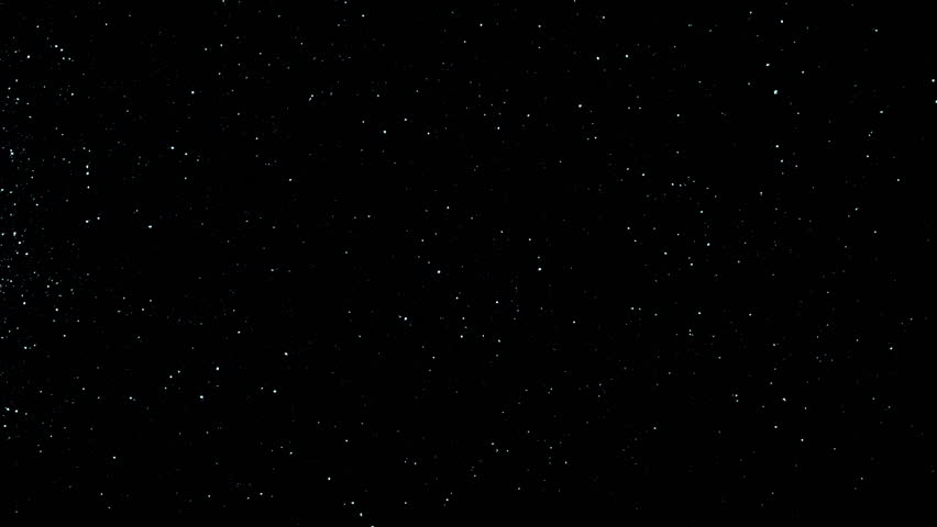 Twinkling flares in 4K UHD video. Black space and white stars, imitation. Use for background and texture.  | Shutterstock HD Video #9568196