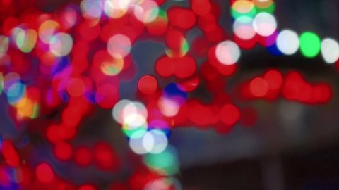 Abstract circular bokeh background in HD resolution