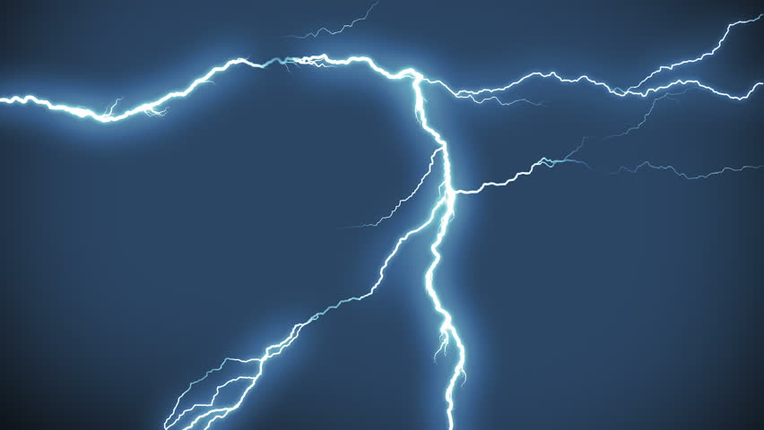 Realistic lightning strikes.Thunderstorm with flashing lightning. MORE COLOR OPTIONS IN MY PORTFOLIO.