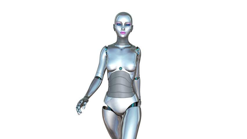 Walking Female Robot Stock Footage Video (100% Royalty-free) 9591281    Shutterstock