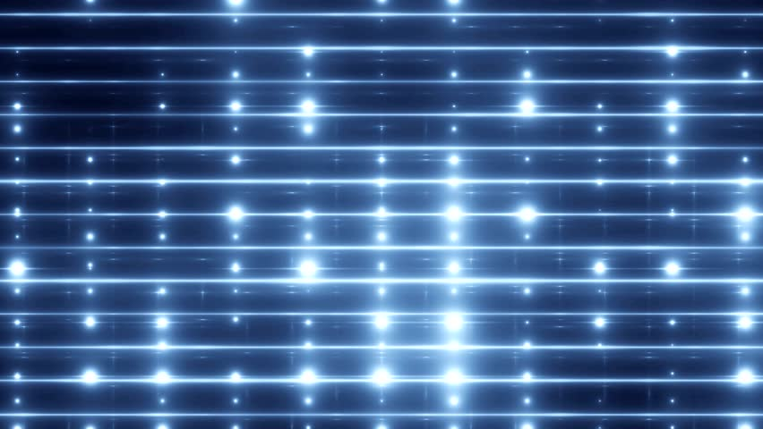 Stage Lights Blue. Bright floodlights on black background. Seamless loop.  | Shutterstock HD Video #9608711