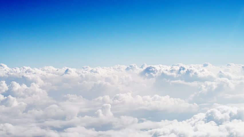Sky and cloud view from the plane window. | Shutterstock HD Video #9626705