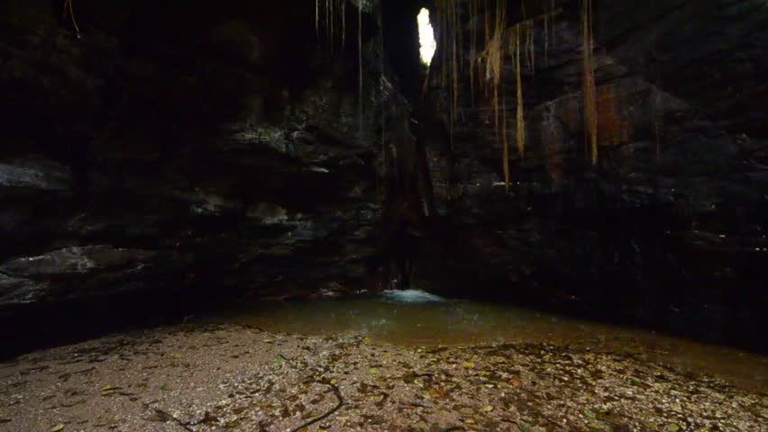 Cave in Brazilian Jalapão State Park - Tocantins - Brazilian conservation unit strictly protected nature