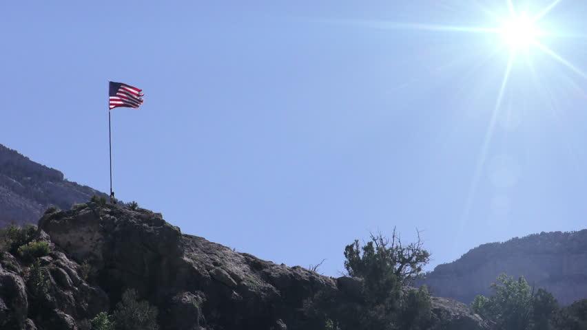 U. S. Flag | Shutterstock HD Video #9667553