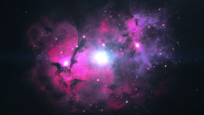 Big Bang.This video is composed of images furnished by NASA.