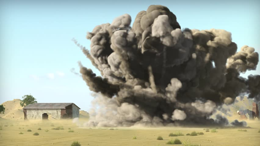 Air strike on terrorists