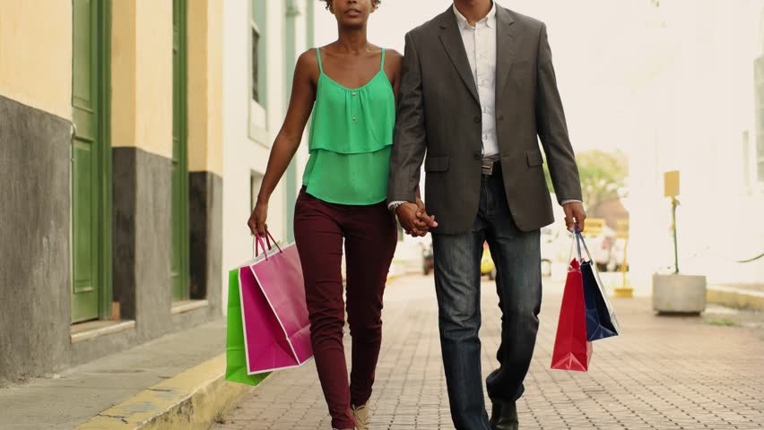 Black Tourist Heterosexual Couple Walking Stock Footage Video (100%  Royalty-free) 9751415 | Shutterstock