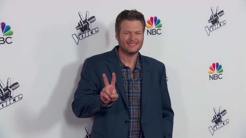 Los Angeles, CA - December 08,2014: Blake Shelton at The Voice Season 7 Top 5 Party, Hyde Sunset