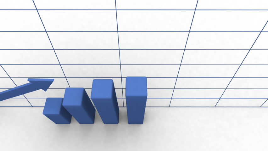 Animated chart / graph showing financial growth   Shutterstock HD Video #987460