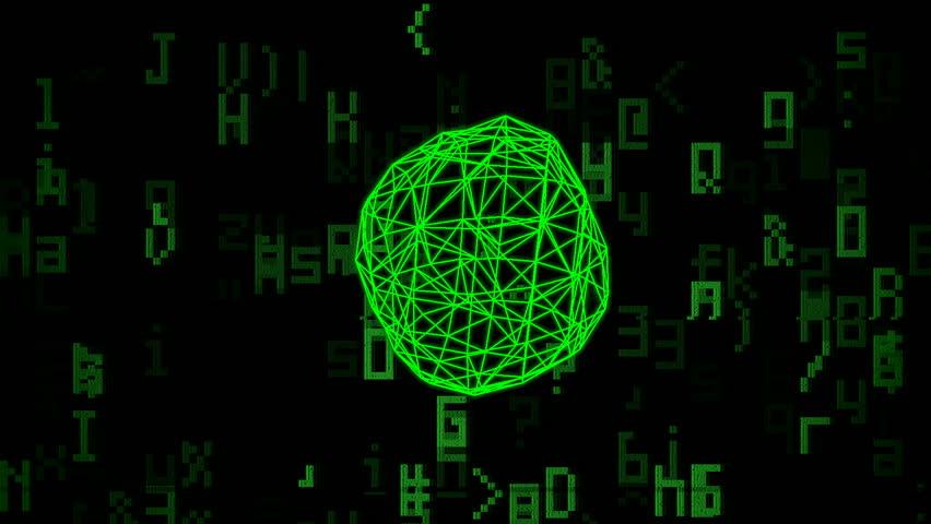 Гифка компьютерного вируса
