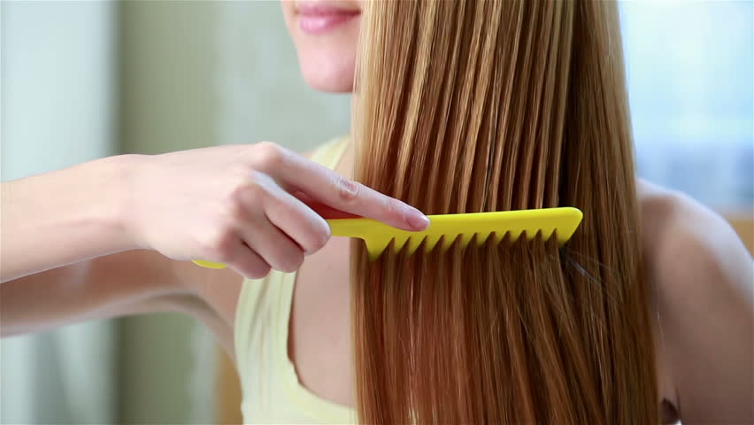 Charming Young Red-haired Woman Combing Stock Footage Video (100%  Royalty-free) 9929600   Shutterstock