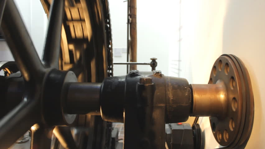 Working vintage stationary engine | Shutterstock HD Video #9966869