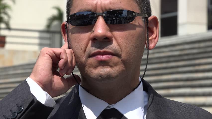 Man in Business Suit, CIA, FBI Agent