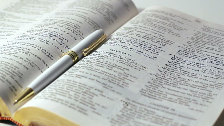 Bible Study Background Stock Footage Video 100 Royalty Free 9973700 Shutterstock