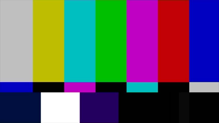 TV Test Pattern | Shutterstock HD Video #999034